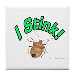 Stink Bug Tile Coaster