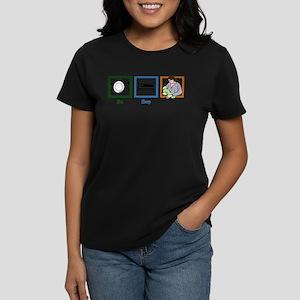 Eat Sleep Breastfeed Women's Dark T-Shirt