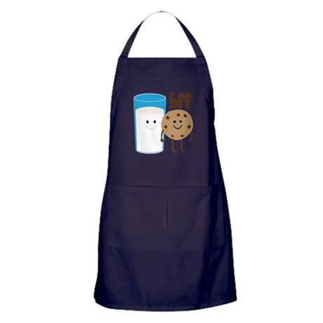Milk & Cookies BFF Apron (dark)