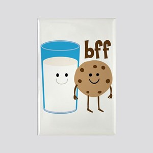Milk & Cookies BFF Rectangle Magnet
