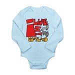 GoatLand Long Sleeve Infant Bodysuit