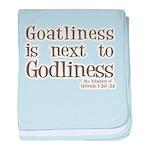 Goatliness Infant Blanket