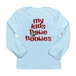 My Kids have Hooves Long Sleeve Infant T-Shirt