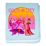 Goats and the City Infant Blanket