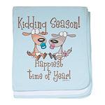 Goat Kidding Season Infant Blanket