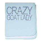 Crazy Goat Lady 2 Infant Blanket