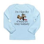 Crazy GoatLAdy3 Long Sleeve Infant T-Shirt