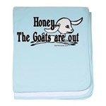 Goats Are Out Infant Blanket