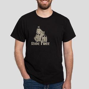 RIDE FREE VINTAGE Dark T-Shirt
