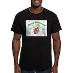 Stink Bug Men's Fitted T-Shirt (dark)