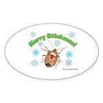 Stink Bug Sticker (Oval 50 pk)