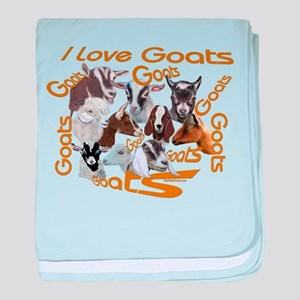 I love Goat Breeds Infant Blanket