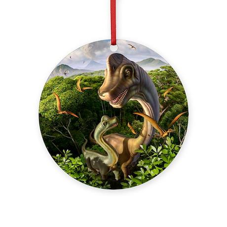 Ultrasaurus Ornament (Round)
