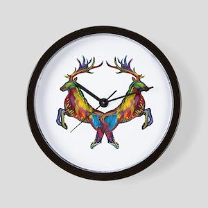 THE RUNNING SPIRIT Wall Clock