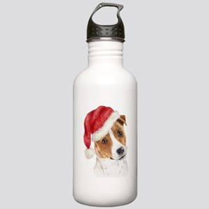 Christmas Jack Russell Terrie Stainless Water Bott