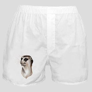 Meerkat Faces Boxer Shorts