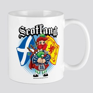 Scotland Flag & Piper Mug