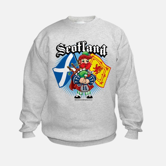 Scotland Flag & Piper Sweatshirt