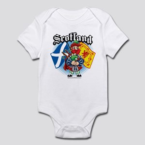 Scotland Flag & Piper Infant Bodysuit