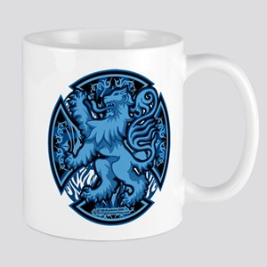 Scotland Iron Cross Blue Mug