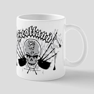 Scotland Skull And Pipes Mug
