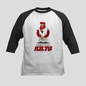 Real Men Wear Kilts 2 Kids Baseball Jersey