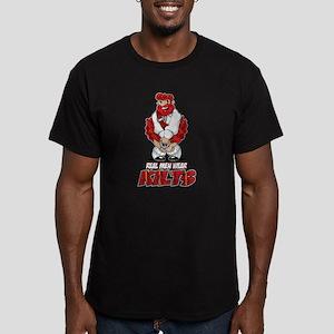 Real Men Wear Kilts 2 Men's Fitted T-Shirt (dark)