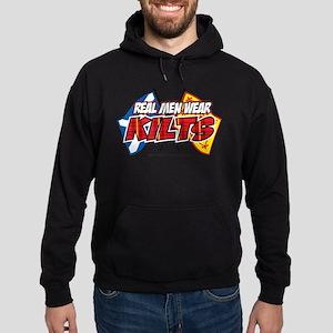 Real Men Wear Kilts Hoodie (dark)