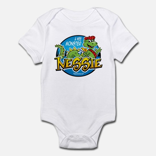 Nessie A Wee Monster Infant Bodysuit