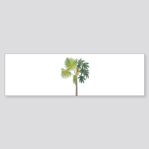 TROPICAL BLISS Bumper Sticker