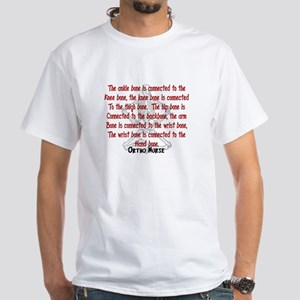 Nurse XXX White T-Shirt