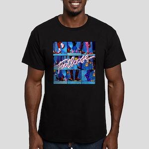 Footloose Dancing X3 Men's Fitted T-Shirt (dark)