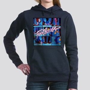 Footloose Dancing X3 Women's Hooded Sweatshirt