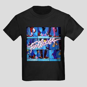 Footloose Dancing X3 Kids Dark T-Shirt