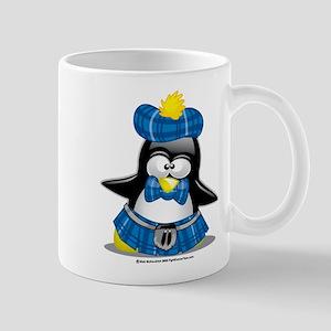 Penguin Blue Kilt Mug
