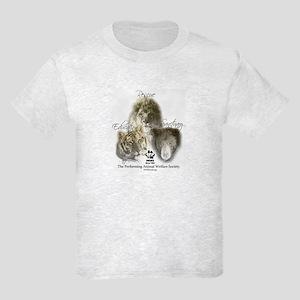 Lions, Tigers & Bears Kids Light T-Shirt