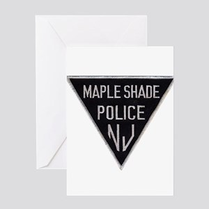 Maple Shade Police Greeting Card
