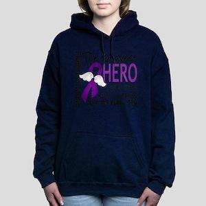 Bravest Hero I Knew Pancreatic Cancer Sweatshirt