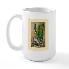 Cactus Garden Large Mug