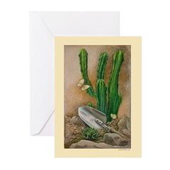 Cactus Garden Greeting Cards (Pk of 10)