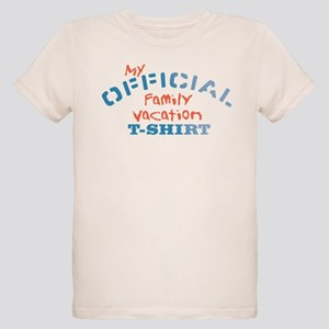 Offical Family Vacation Organic Kids T-Shirt