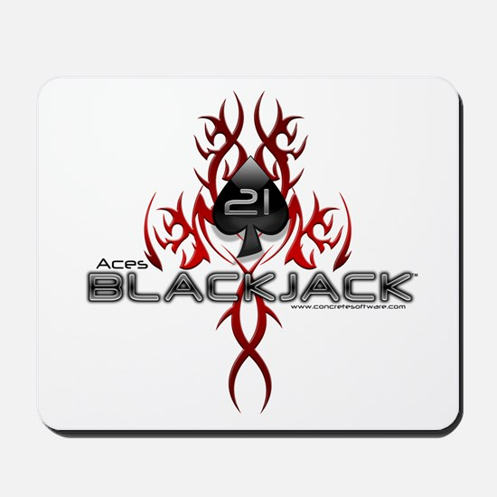Tribal Blackjack Mousepad