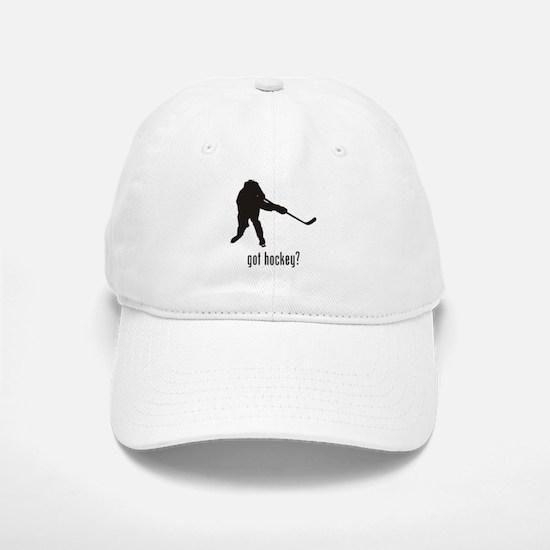 Hockey 9 Baseball Baseball Cap