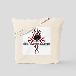 Tribal Blackjack Tote Bag