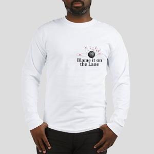 Blame It On The Lane Logo 2 Long Sleeve T-Shirt De