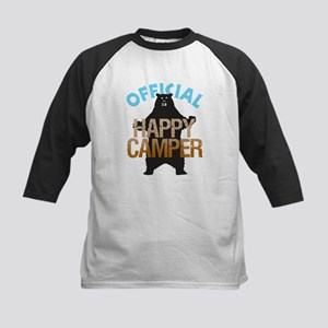 Happy Camper Kids Baseball Jersey