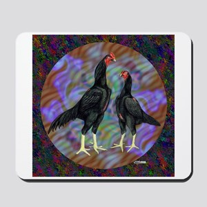 Shamo Circle Mousepad