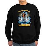 Musher's training Wheels 2 Sweatshirt (dark)