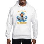 Musher's training Wheels 2 Hooded Sweatshirt