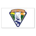 WoofDriver WooF Sticker (Rectangle 10 pk)